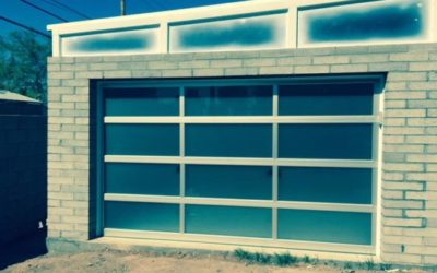 Garage Door Made of Glass
